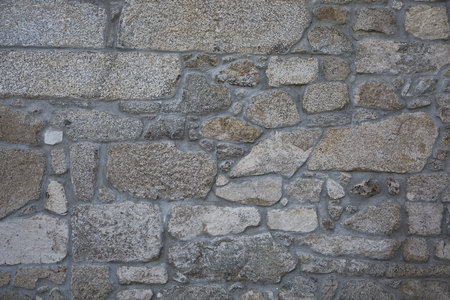 surface level: Natural stone wall or a Portuguese solares