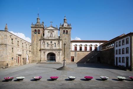ポルトガルのヴィゼウの大聖堂 写真素材