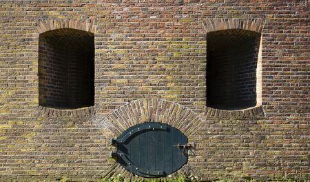 Part of a Dutch fort near Schalkwijk, the Netherlands