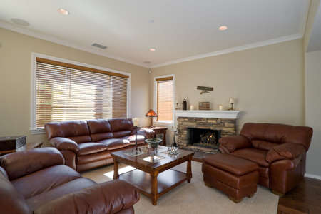 recessed: Well Appointed Showcase Living Room with Interior Decoration