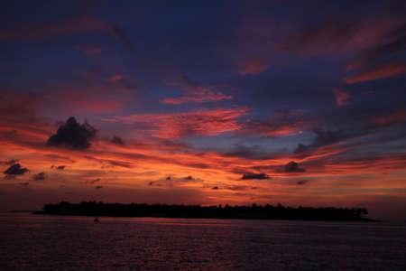 Coucher de soleil sur Key West