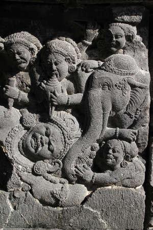 Prambanan Detail Stock Photo - 15222107