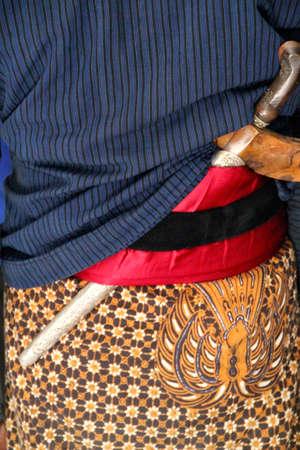 Traditionally worn Kris Knife photo