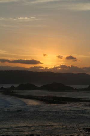 cirrus: Lombok Sunset Stock Photo
