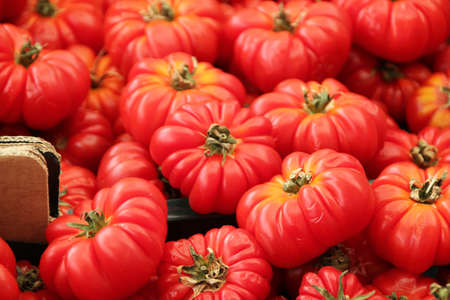 Tomates au march� traditionnel � Rome Italie