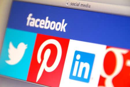Het verhogen van inbreuken op de beveiliging in de sociale media Redactioneel