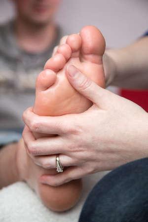 Foot Massage-3 Фото со стока
