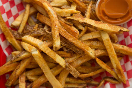 Fresh Cut French Fries with Sauce