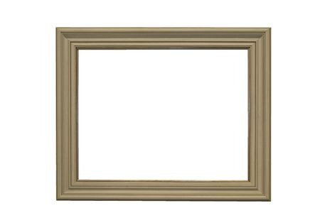 empty picture frame Stock Photo - 5022467