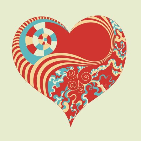 abstract heart Stock Vector - 18176268