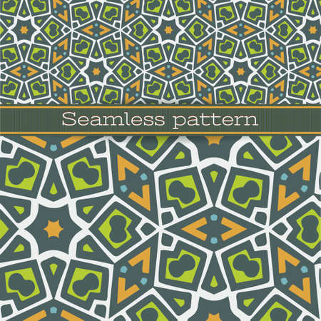 Seamless pattern for wallpaper, pattern fills, web page background, surface textures  Vector