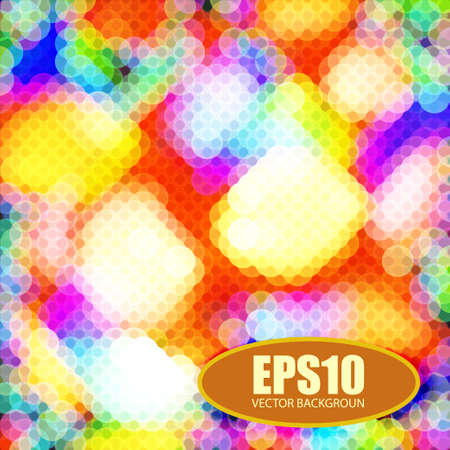 Abstract on a colorful background  for design, illustration Stock Vector - 16448553