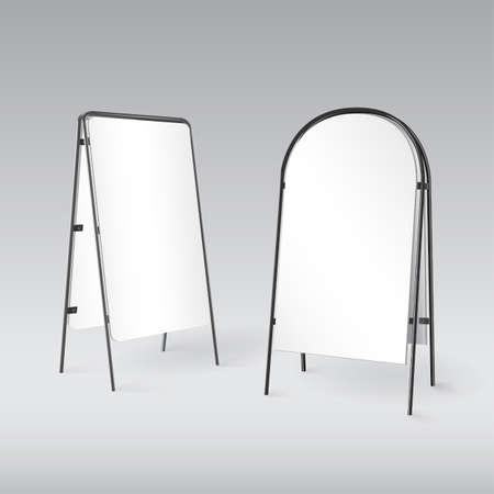 sandwich board: Sandwich board isolated - 3d illustration