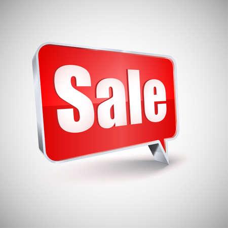 Sale vector icon,  illustration
