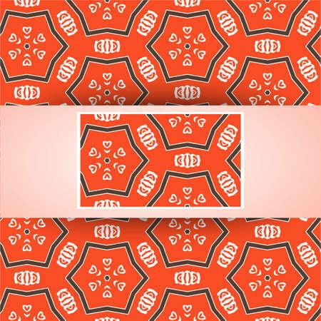Vector geometric seamless pattern, stylish geometric background Vector