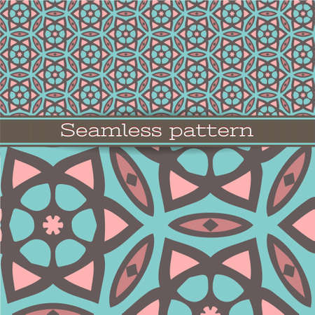 Seamless pattern for wallpaper, pattern fills, web page background, surface textures. Illustration