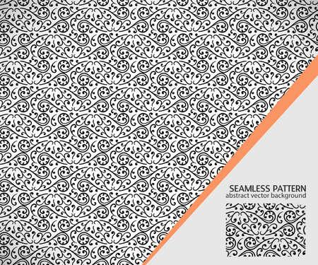 rekodzielo: Seamless floral pattern. Vector illustration, handicraft Ilustracja