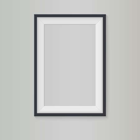 Blank frame, vector illustration  Çizim