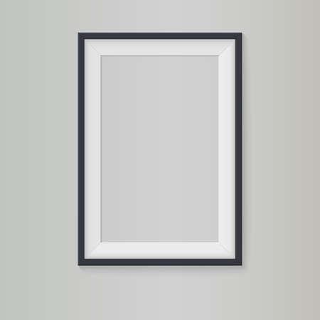 Blank frame, vector illustration  Vectores