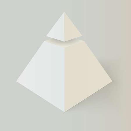 의식: 프리메이슨 피라미드.