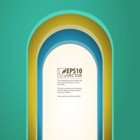 archway: Arch, vector background with arches Illustration