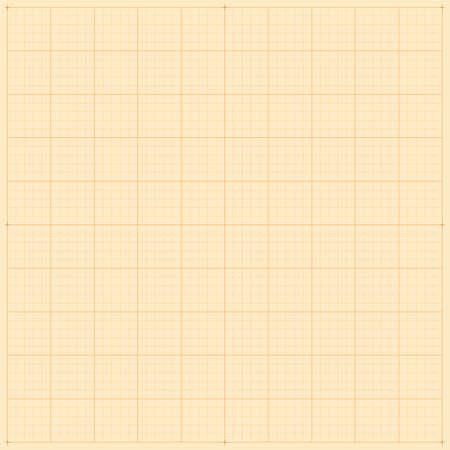 milimetr: Siatka milimetrowa Ilustracja
