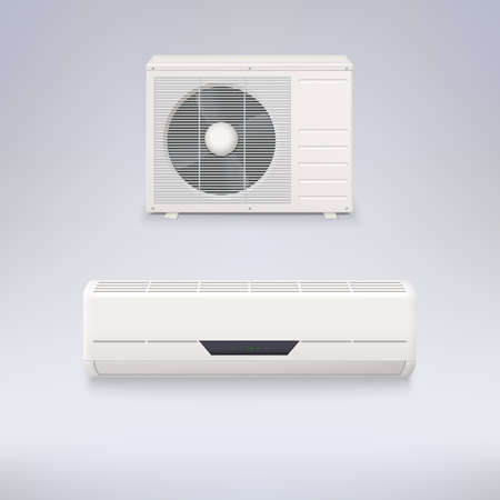 Air conditioning system Vector
