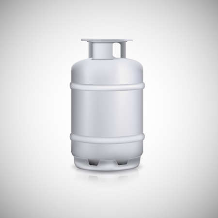 compressed gas: Propane gas balloon. Aluminum gas tank, gas container.