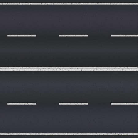 Asphalt texture de la route avec des rayures blanches. Vector illustration Banque d'images - 33902542