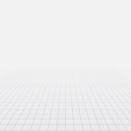 Abstract background with perspective grid. Vector illustration