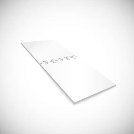 spiral notebook: Blank spiral notebook lying, isolated on white background.