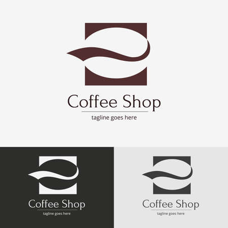 for the design: Coffee shop design. Vector symbol for design.