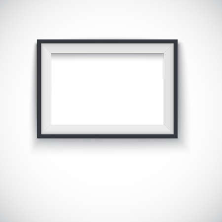 horizontal: Picture wood frame horizontal