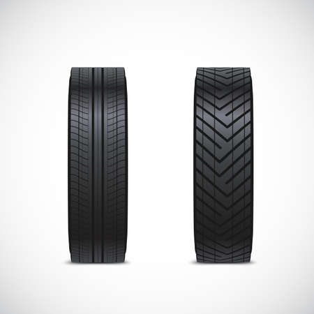 tyre tread: tire icons. The tread pattern of the tyre.