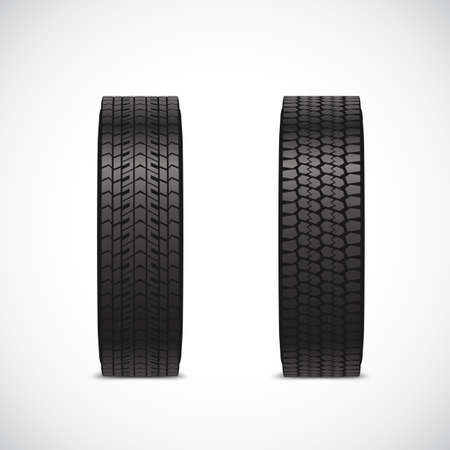 tread: The tread pattern of the tire.