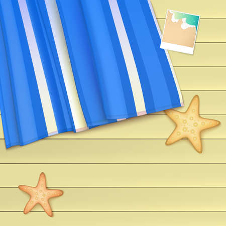 beach sea: Template