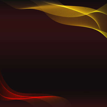 abstract waves background: Vector abstract waves background. Template for brochure and presentation. Mock-Up for your design