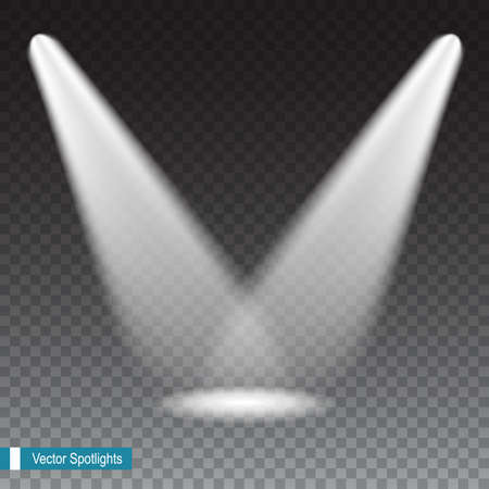 beams: Beams from the spotlights on transparent background.