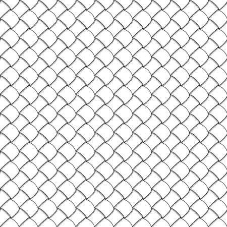 interlacing: Abstract hand-drawn grid with interlacing. Vector doodles, seamless pattern. All elements are not cropped and hidden under mask, place the pattern on canvas and repeat
