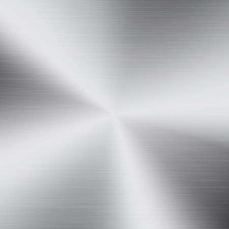 polished: Polished metal texture background. Circular brushed metal texture. Polished metal plate. Illustration