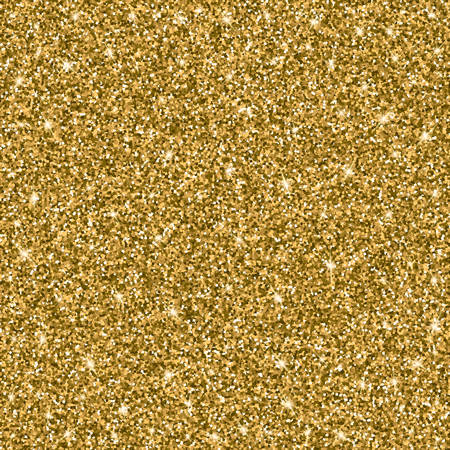 sheen: Gold glitter bright vector background. Sparkles, shiny texture with solid Golden sheen. Excellent for your greeting cards, luxury invitation, advertising, certificate