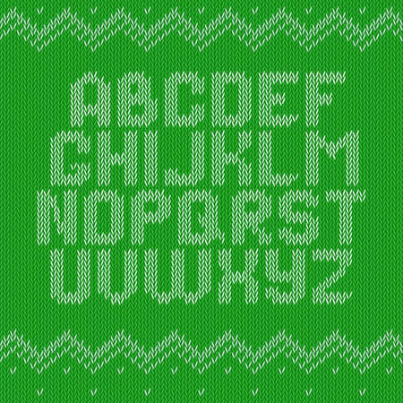 Knitted Alphabet Stock Photos Royalty Free Knitted Alphabet Images