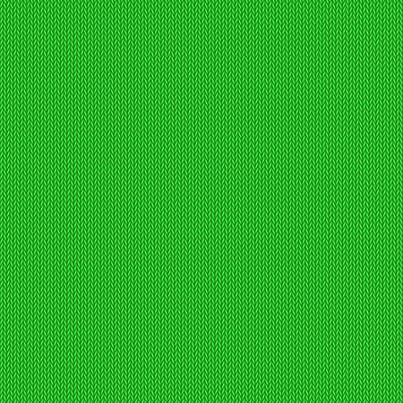 coarse: Knitted pattern, green background, vector editable resizable illustration