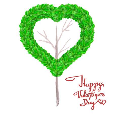 Tarjeta De Felicitación Del Día De San Valentín Con Inscripción ...