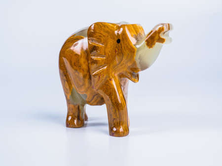 onyx: Picture of the onyx elephant on white background. Side view.