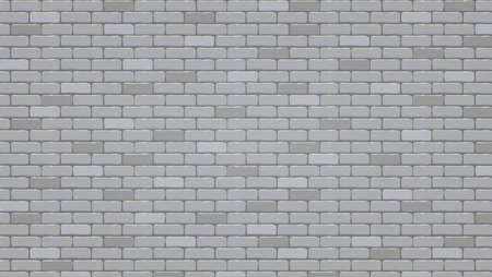 Brick wall background, vector pattern. Illustration, texture of brick wall 일러스트