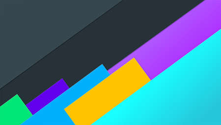 Layered paper background, idea for banner. Abstract geometric compositions colorful paper sheets for card, poster, brochure.