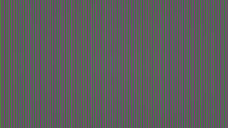 RGB halftone color lines. Abstract chromatic aberrations pattern. Picture of broken TV screen. Horizontal resizable technology background, ready for use
