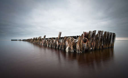 old pier: Old Pier in Pape