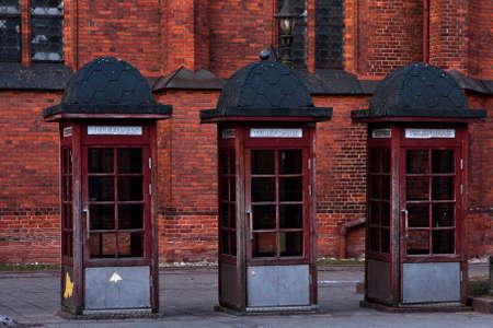 telephone: telephone cabins